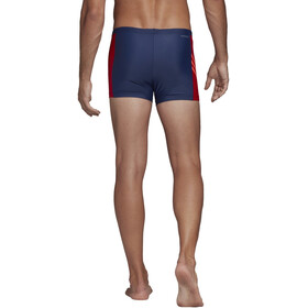 adidas Fit 3Second BX Boxershorts Herren tech indigo/scarlet/app solar red